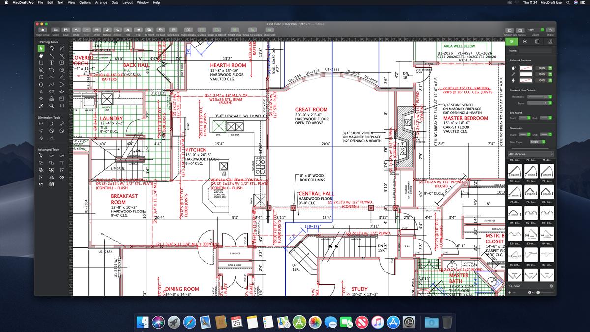 hight resolution of macdraft 764 bit