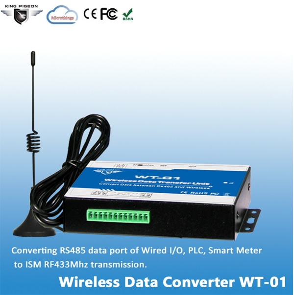 Wireless RS485 Data Converter