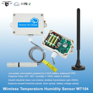 Wireless Temperature Humidity Sensor LoRa Version