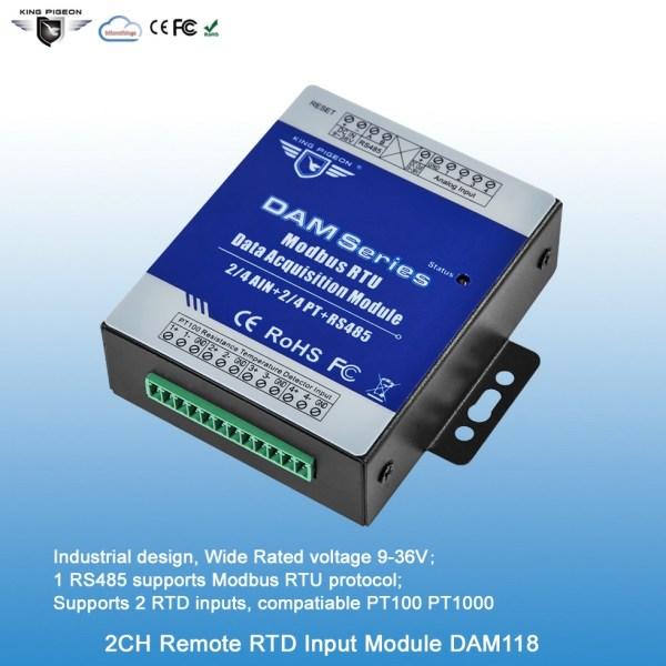 2RTD Remote Data Acquisition Module