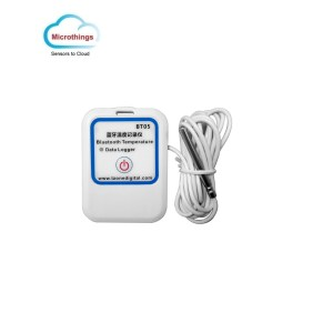 Bluetooth Temperature Data Logger External Sensor