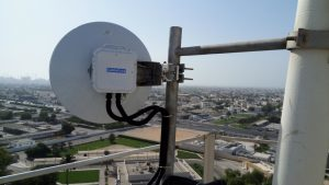 CableFree MMW Link Deployed in UAE