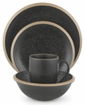 Discontinued Dansk Santiago Black Dinnerware