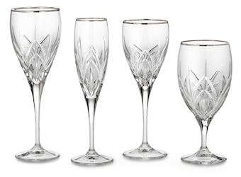 Marquis by Waterford Crystal Caprice Platinum Stemware