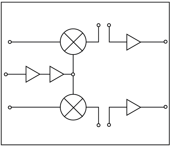 Single- and Dual-branch Downconverter ICs for Wireless