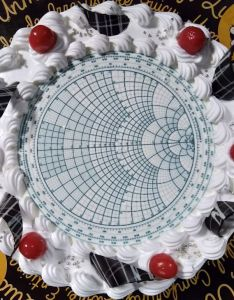 We  ve got our own smith chart tutorial here thanks to  fan from florida mike weinstein who really knows this subject and is fine writer too also microwaves basics rh