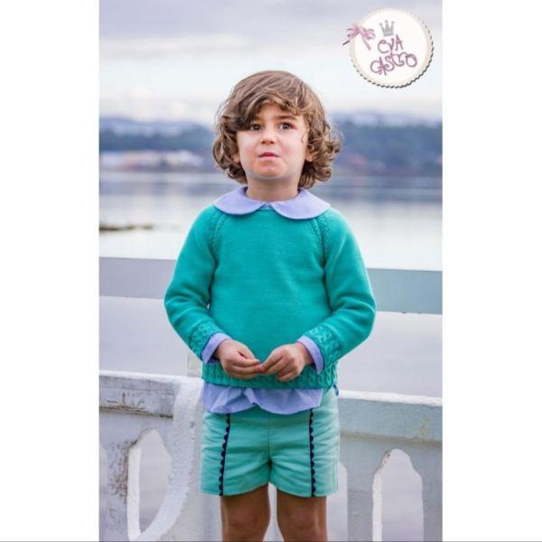 Conjunto tres piezas niño Colección DOMINIQUE Eva Castro