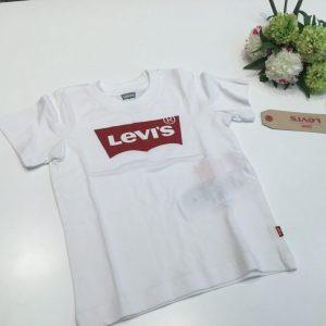 camiseta levis basica blanca