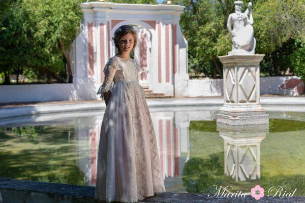 vestido Marita Rial comunión