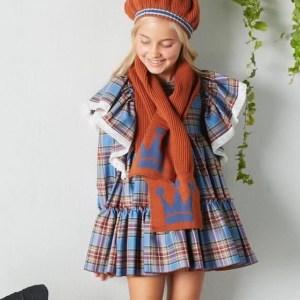 Vestido Ava de Eva Castro invierno 2021