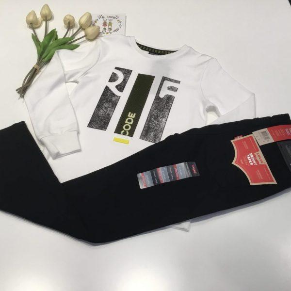 camiseta manga larga niño sarabanda