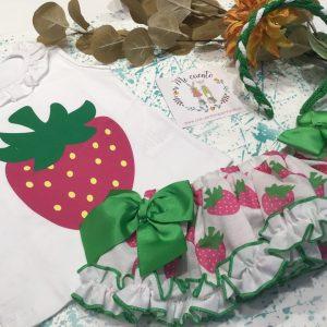 conjunto fresas de mon petit