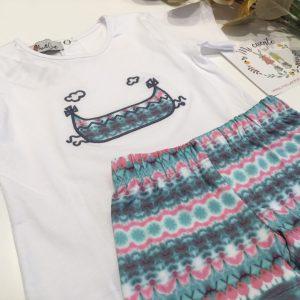 conjunto bañador y camiseta niño