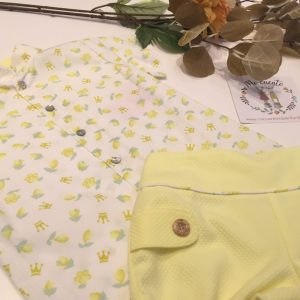 conjunto amarillo eva castro