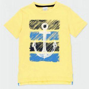 camiseta amarilla ancla