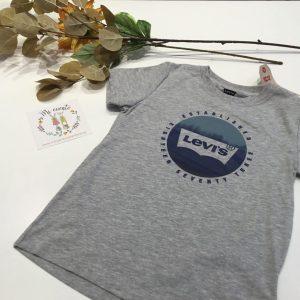 camiseta gris levis de niño