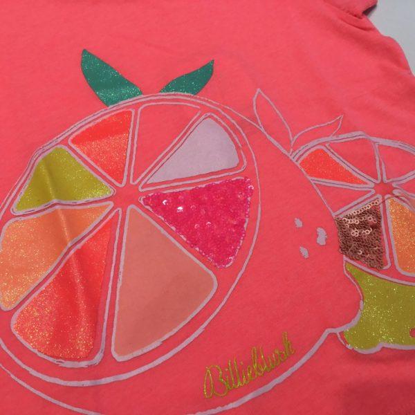 camiseta billie blush limon