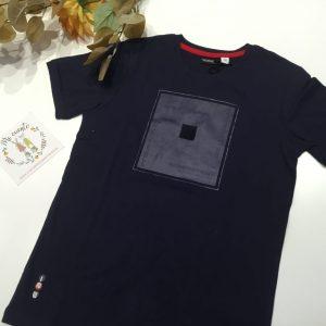 camiseta azul marino sarabanda