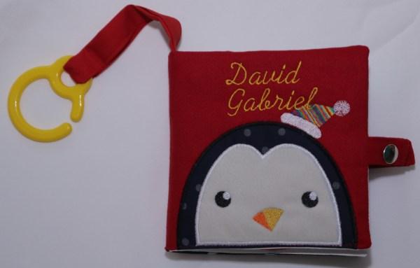 carte senzoriala – Iarna cu Pingu