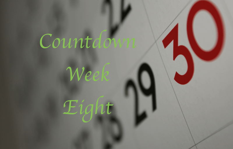 Mike's Countdown To 195:  Week Eight