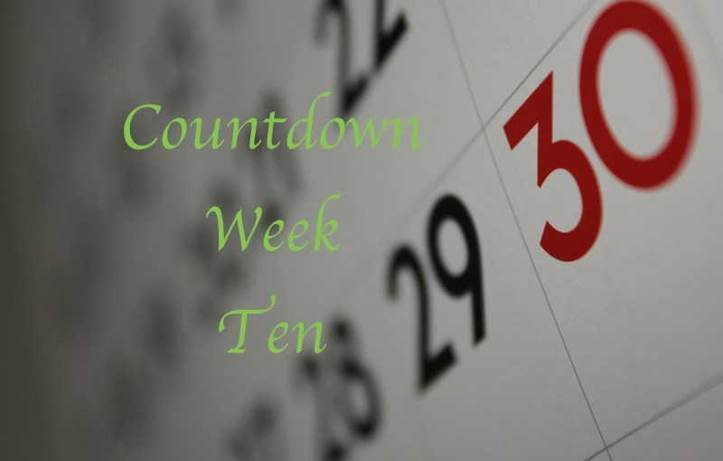 Mike's Countdown To 195:  Week Ten