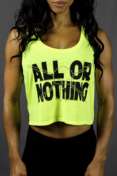 Woman in a All or Nothing top