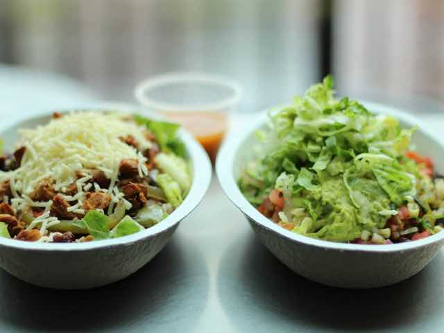 Burrito Bowl from Chipote