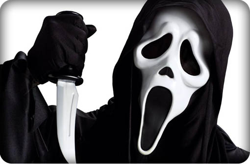 Scream the movie's villian Ghostface