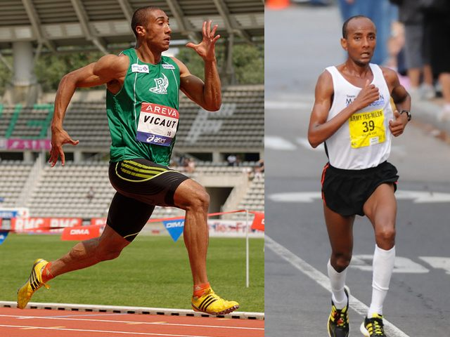 Sprinter vs. long distance runner