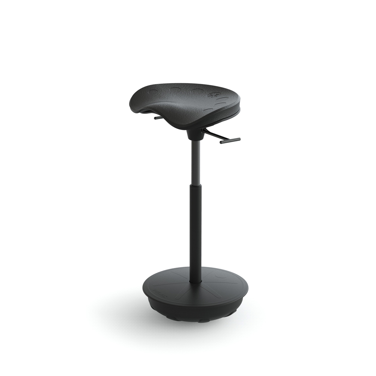 desk chair piston captain chairs for lund boats pivot seat by focal upright furniture : ergocanada - detailed specification page