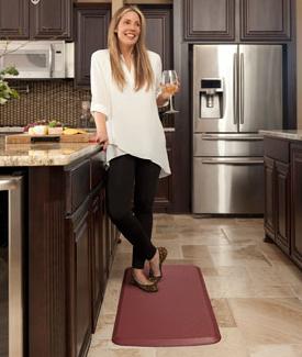 kitchen gel mats outdoor kitchens for sale gelpro elite anti fatigue mat by lets inc ergocanada