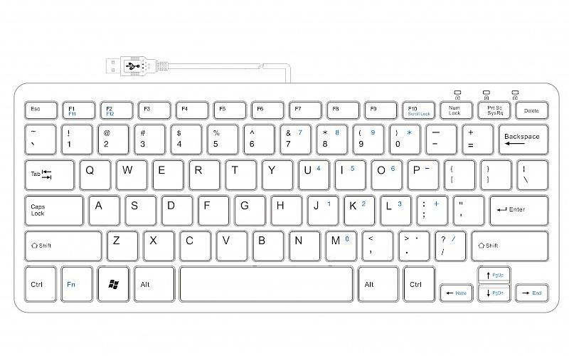 R-Go Compact Keyboard by R-Go Tools : ErgoCanada