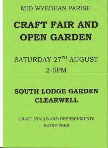 Open garden poster 001