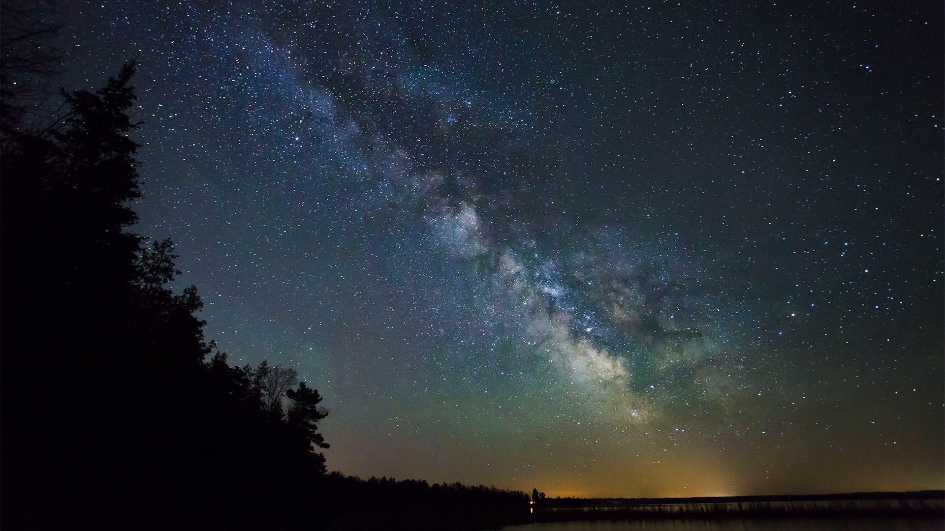 Tahquamenon Falls Michigan Winter Wallpaper Headlands International Dark Sky Park Website For Emmet