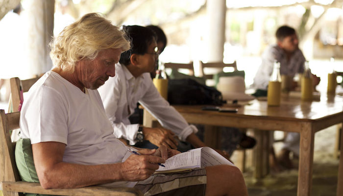 Richard Branson Constantly Learning