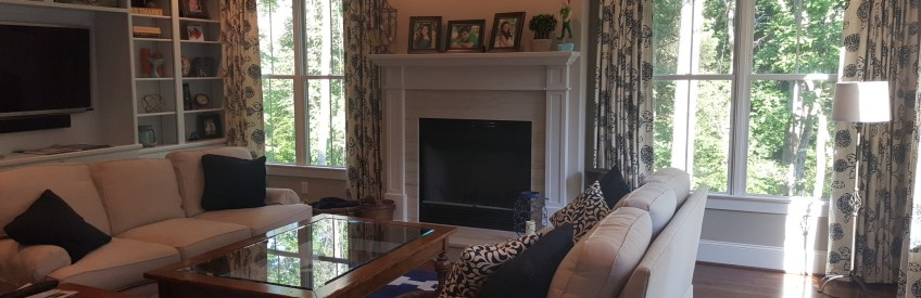 Happy Customer! Help with Window Treatments Made Easy
