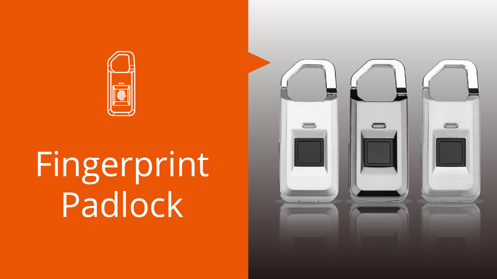 MPL-2000 Ultra-light Fingerprint Padlock