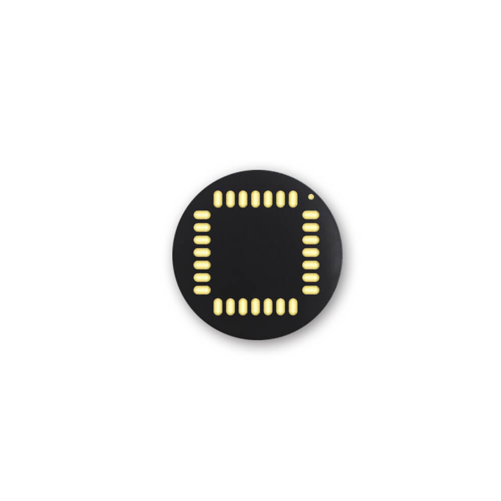 MFC-2160 160*160 pixel circular fingerprint sensor with IP 67 back view