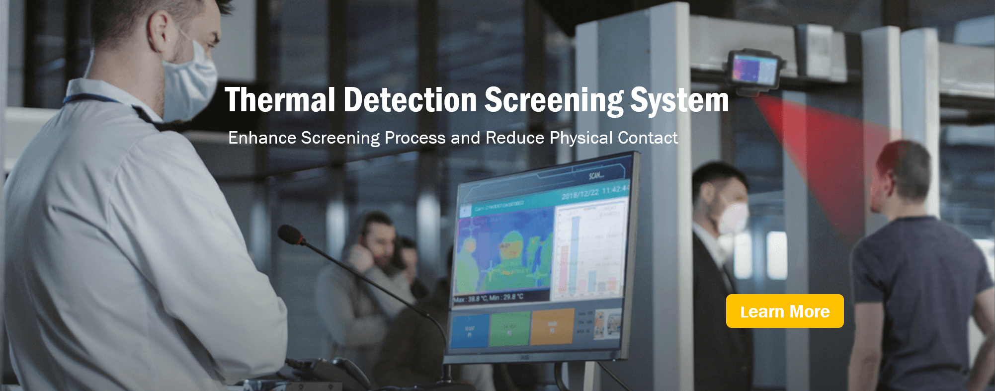 COVID-19 Thermal Detection System | Midas Touch