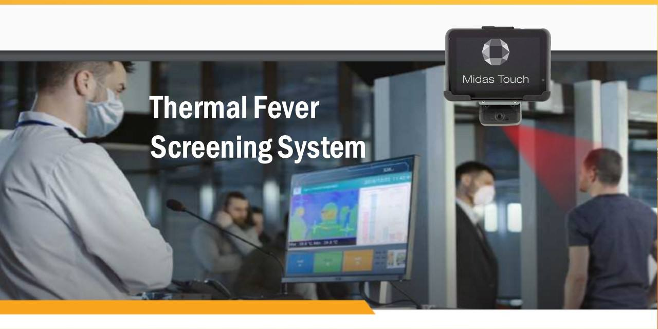 COVID-19 Thermal Detection Tablet | Midas Touch