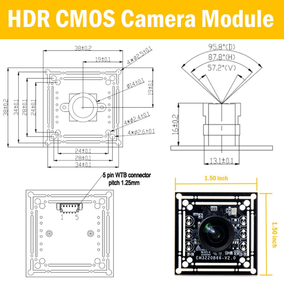 HDR USB Camera Module