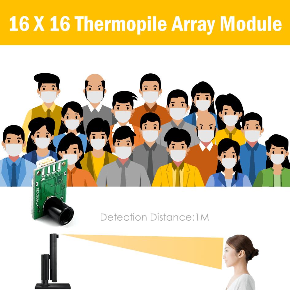Infrared thermal sensor | Temperature sensor module | Midas Touch