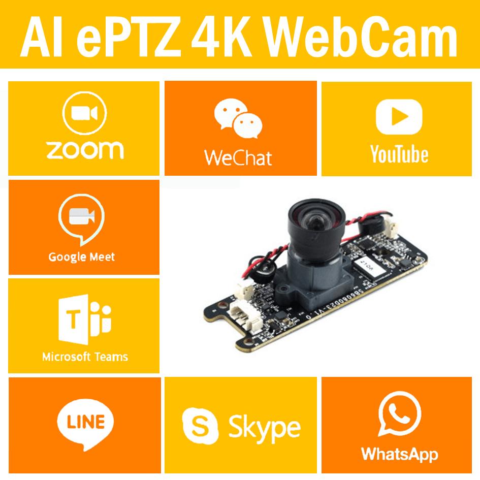 AI ePTZ Camera | PTZ WebCam Module