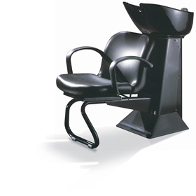 beauty salon waiting area chairs posture seat for couch takara belmont - shuttle shampoo unit