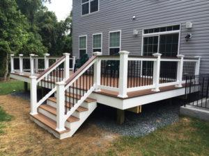 low maintenance composite decking