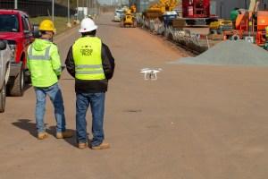 Drone Services - Construction Shoot