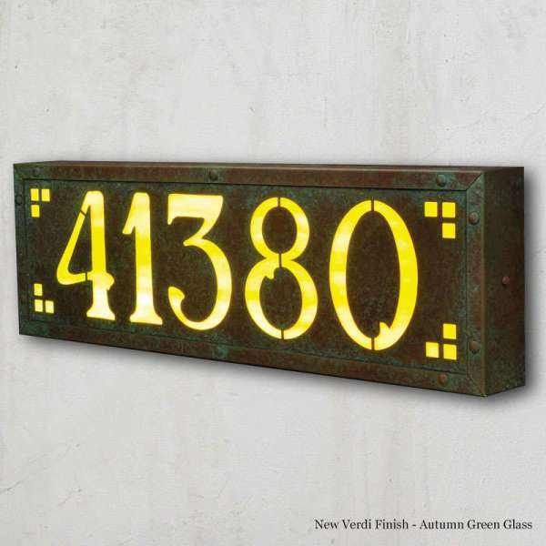 Americas Finest Address Plaque House Numbers