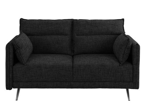 Casa Andrea Milano - Two-seat Sofa Midcentury - Black