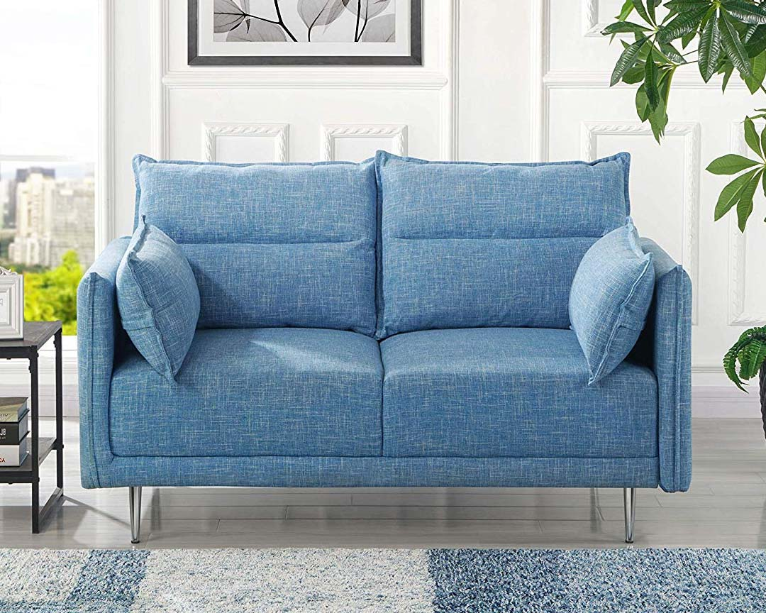 Casa Andrea Milano - Two-seat Sofa Midcentury - Featured