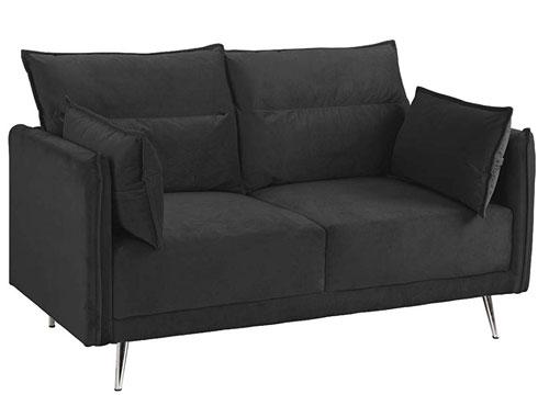 Casa Andrea Milano - Upholstered (Velvet) - Black